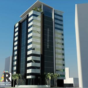 Residential building facades design